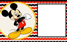 Mickey Mouse 1St Birthday | Desserts Cookies | Mickey Mouse – Free Printable Mickey Mouse 1St Birthday Invitations