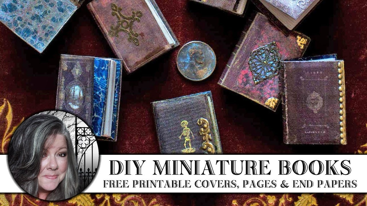 Miniature Books - A Love Affair | Thicketworks - Free Printable Miniature Book Covers