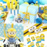 Minion Inspired Birthday Party Ideas & Free Printables   Party Ideas   Thanks A Minion Free Printable