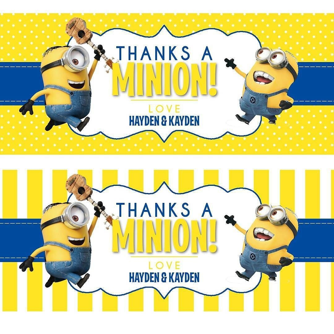 Minion Printables Round-Up | Coloring Pages - Minion | Despicable Me - Free Printable Minion Food Labels