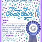 Modern Tooth Fairy Certificates   Rooftop Post Printables   Free Printable Tooth Fairy Certificate
