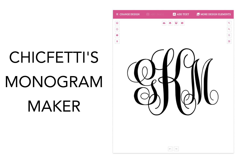 Monogram Maker - Make Your Own Monograms Using Our Free Online Maker - Monogram Maker Online Free Printable