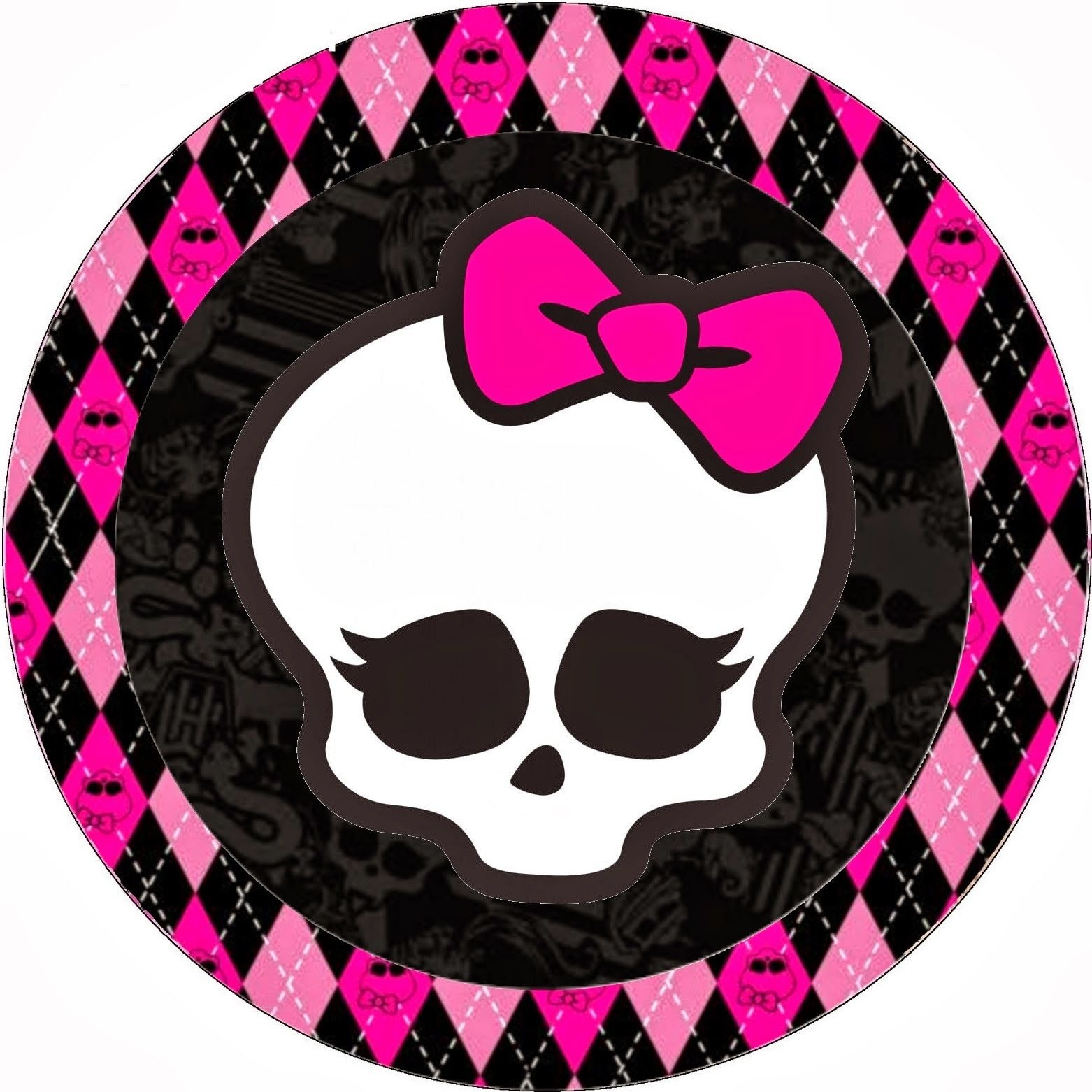 Monster High Birthday Clip Art   Monster High Halloween Special Free - Free Printable Monster High Stickers