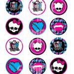 Monster High Logo Skull Monster High Logo Printable | Tattoo Ideas   Free Printable Monster High Stickers