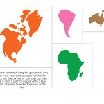 Montessori World Map And Continents   Gift Of Curiosity   Montessori World Map Free Printable