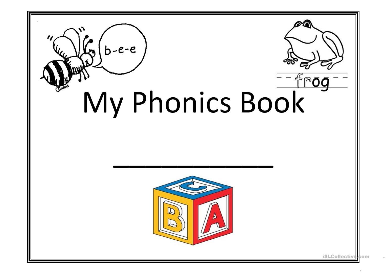My Phonics Book Worksheet - Free Esl Printable Worksheets Made - Phonics Pictures Printable Free