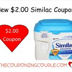 New $2.00/1 Similac Formula Coupon + Walmart Deal!   Free Printable Similac Sensitive Coupons