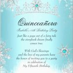 New Free Quinceanera Save The Date Templates | Best Of Template   Free Printable Quinceanera Invitations