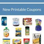 New Month! New Printable Coupons! Kraft, Post, Gerber, Noxzema   Free Printable Kraft Food Coupons
