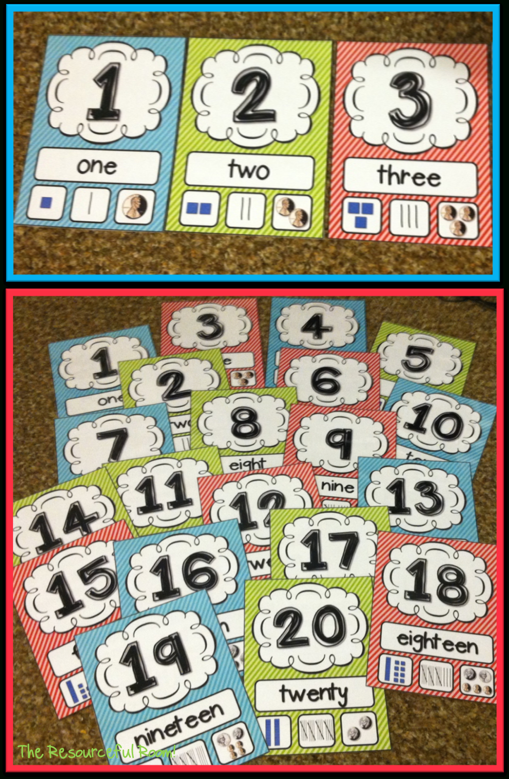 Number Posters | Classroom Freebies! | Classroom Freebies - Free Printable Number Posters