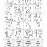 Numbers 1 20 Worksheet   Free Esl Printable Worksheets Madeteachers   Free Printable Numbers 1 20 Worksheets