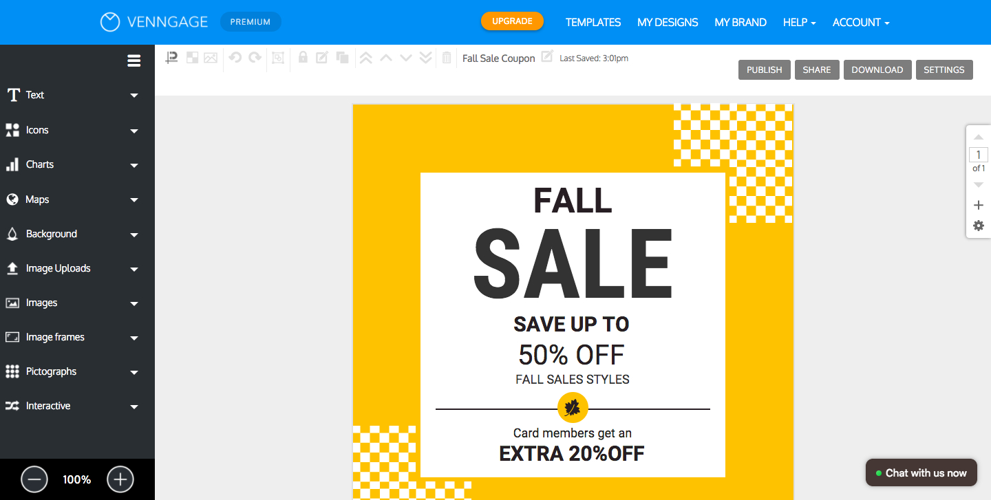 Online Coupon Maker - Make Your Own Coupon - Venngage - Make Your Own Printable Coupons For Free