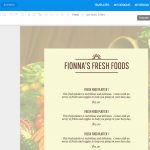 Online Menu Maker   Make A Menu With Venngage   Create A Menu Free Printable
