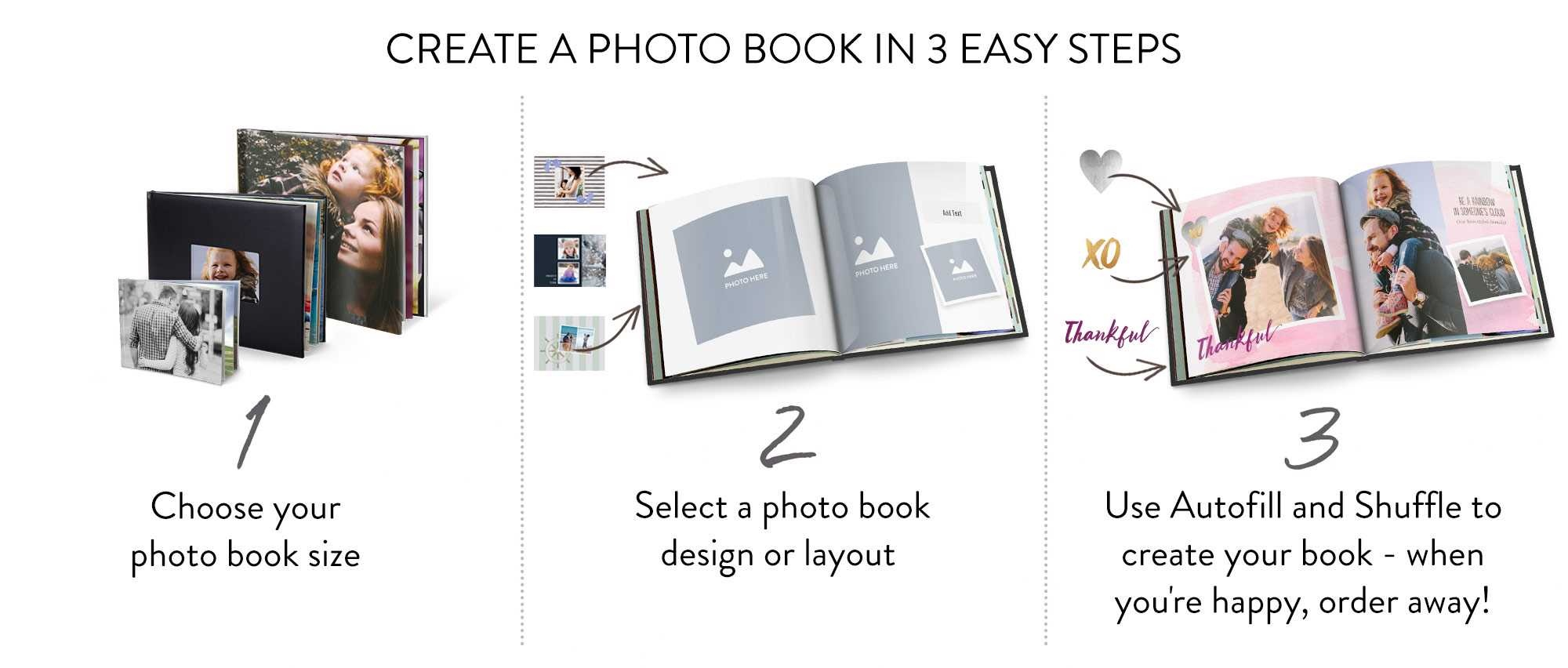 Online Photo Books | Make A Book | Custom Books | Snapfish Au - Make A Printable Picture Book Online Free