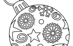 Ornaments Free Printable Christmas Coloring Pages For Kids | Paper – Free Printable Christmas Coloring Pages For Kids