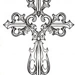 Ornate Cross Clipart #1 | Graphics & Printables | Tattoos, Cross   Free Printable Cross Tattoo Designs