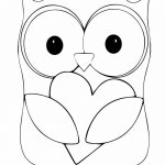 Owl Coloring Page | Coloring Pages Owl (Birds > Owl)   Free   Free Printable Owl Coloring Sheets