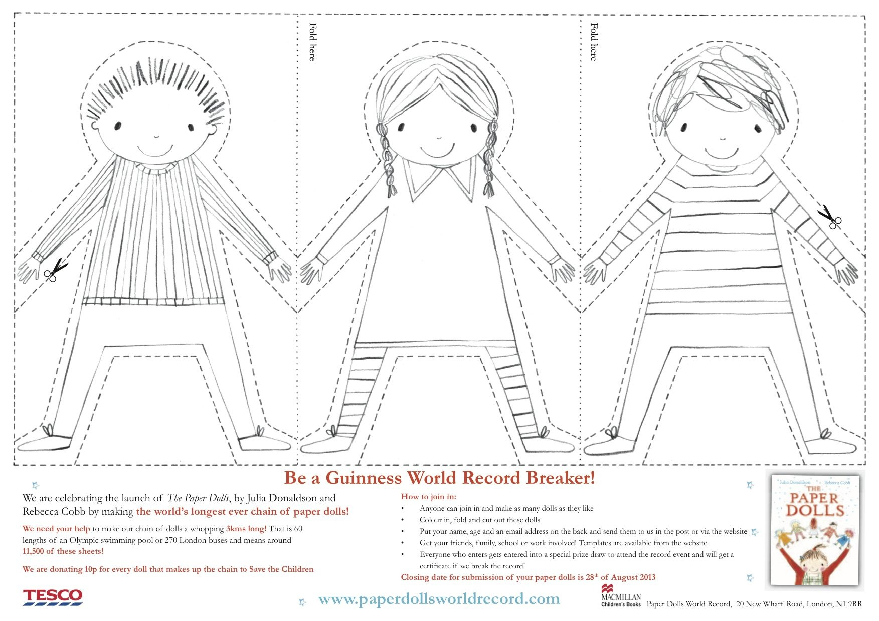 Paper Doll Chain Template - Google Search | Crafty | Paper Doll - Free Printable Paper Dolls From Around The World