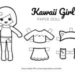 Paper Doll Clothes Coloring Pages – Salumguilher   Free Printable Paper Dolls Black And White