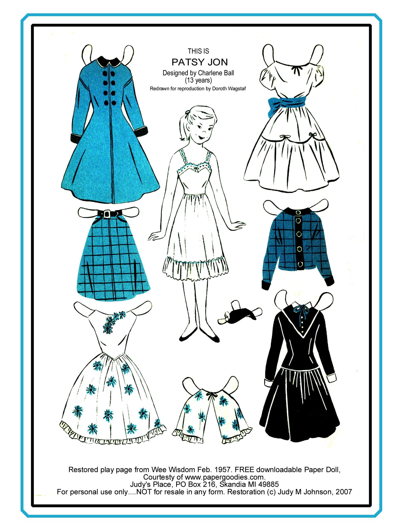 Paper Dolls Vintage Paper Dolls Celebrity Paper Dolls - Free Printable Paper Dolls From Around The World