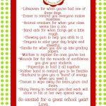 Paperlicious Girls: Free Printable~Teacher Survival Kit | Teacher   Teacher Survival Kit Free Printable