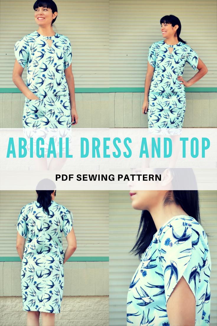Pdf Sewing Patterns | Diy Blouse Top Sweater | Sewing Patterns, Pdf - Free Printable Blouse Sewing Patterns