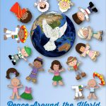 Peace Around The World   Multicultural Printable   Free Printable Multicultural Posters