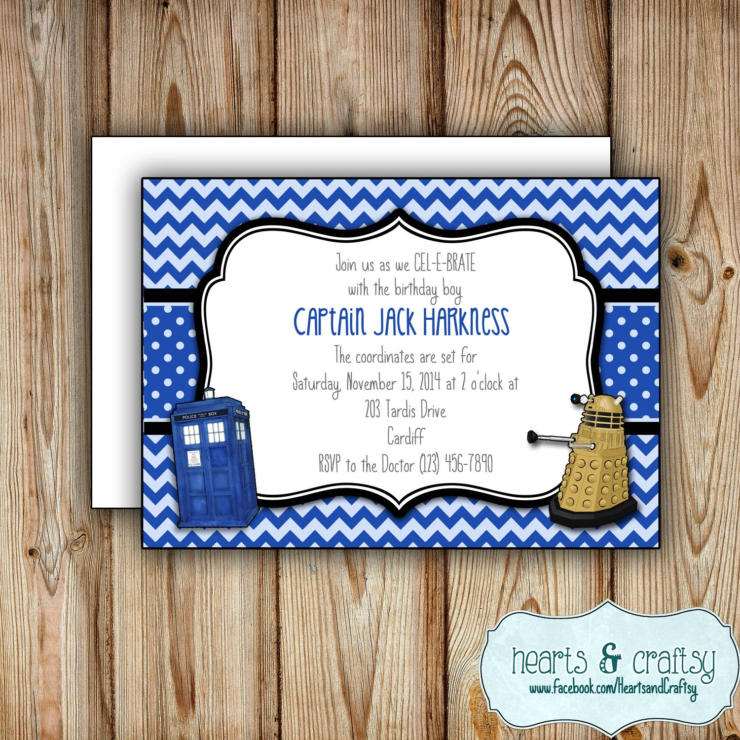 Personalized Printable Doctor Who Party Invitation Doctor | Etsy - Doctor Who Party Invitations Printable Free
