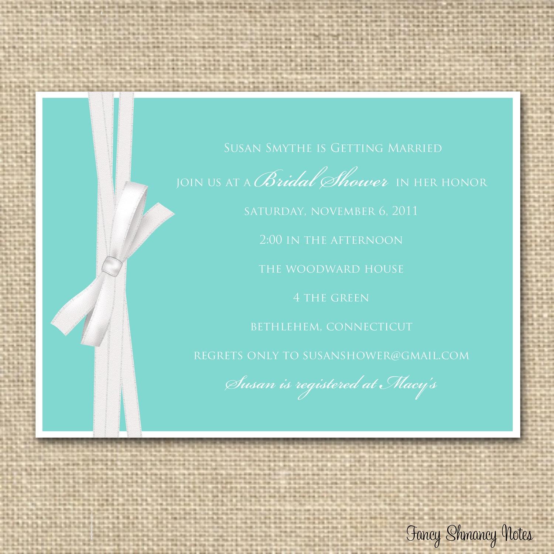 Photo : Free Bridal Shower Invitation Image - Free Printable Beach Theme Bridal Shower Invitations
