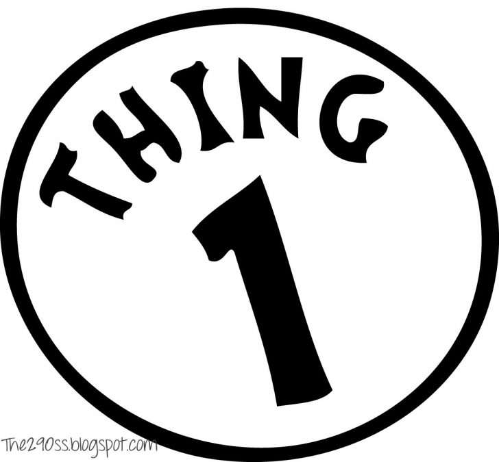 Thing 1 And Thing 2 Free Printable Template