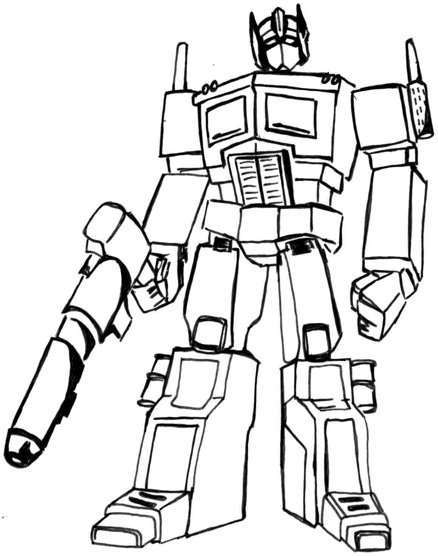 Pin De Julia En Colorings | Transformers Coloring Pages, Coloring - Transformers 4 Coloring Pages Free Printable