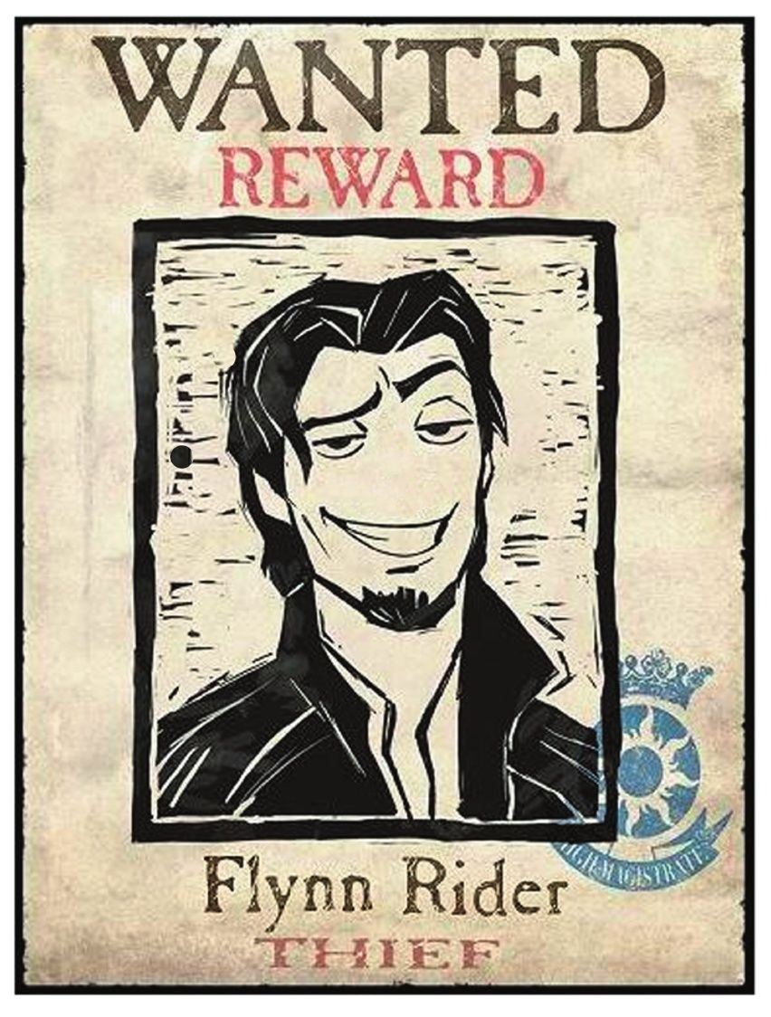 Pin The Nose On Flynn- If Only I'd Thought Of This For Reese's Last - Free Printable Flynn Rider Wanted Poster
