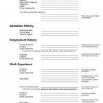 Pinanishfeds On Resumes | Free Printable Resume, Free Printable   Free Printable Blank Resume