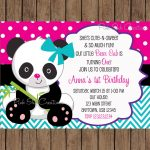 Pindalila Medina Rangel On Isa's Birthday | Boy Birthday   Panda Bear Invitations Free Printable