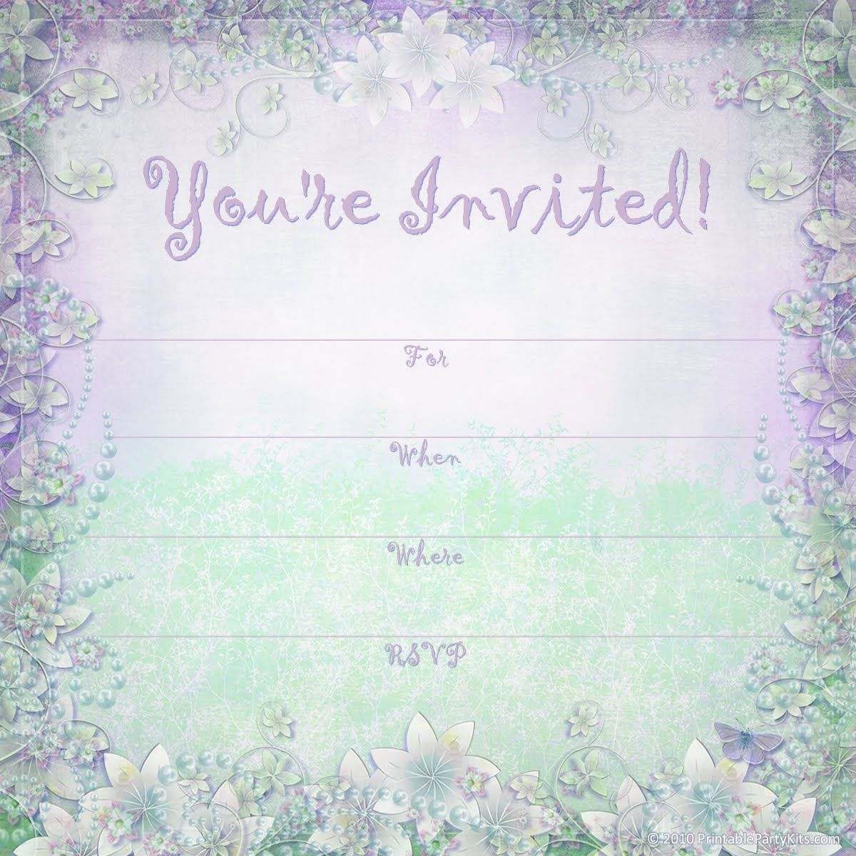 Pindj Peter On 16 Year Old Birthday Party Ideas / Themes - Free Printable 16Th Birthday Party Invitation Templates