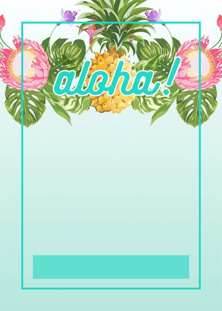 Free Printable Luau Clipart