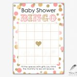Pinedln On Baby Naz | Baby Shower Bingo, Gold Baby Showers   Free Printable Baby Shower Bingo Cards Pdf