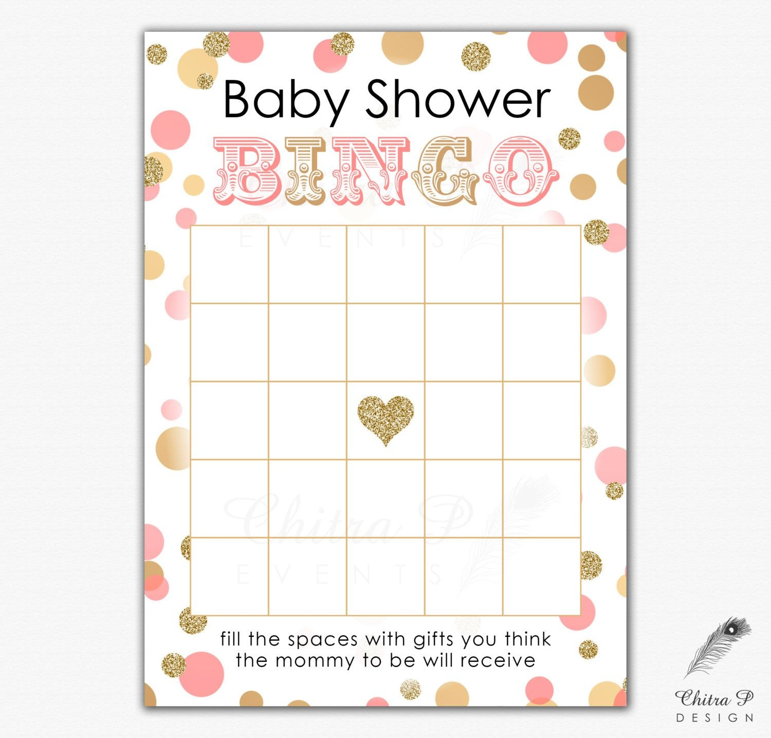 Pinedln On Baby Naz | Baby Shower Bingo, Gold Baby Showers - Free Printable Baby Shower Bingo Cards Pdf