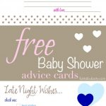 Pinfantabulosity   Life + Style Blog On Ogt Blogger Friends In   Free Printable Baby Advice Cards