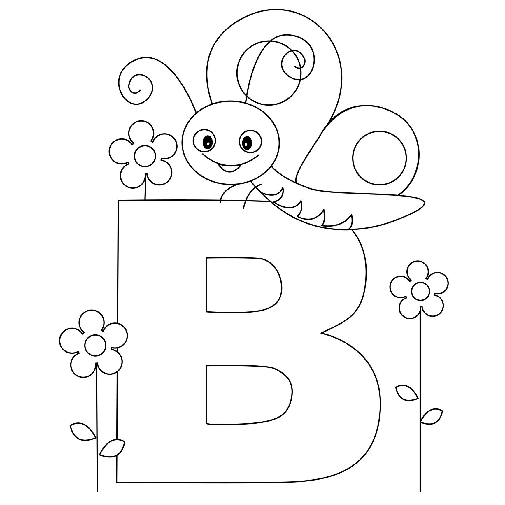 Pinj3N _ On Homeschool | Letter Work | Abc Coloring Pages - Free Printable Preschool Alphabet Coloring Pages