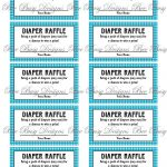 Pinkats Kreations On Baby In 2019 | Diaper Raffle, Baby Shower   Free Printable Diaper Raffle Ticket Template
