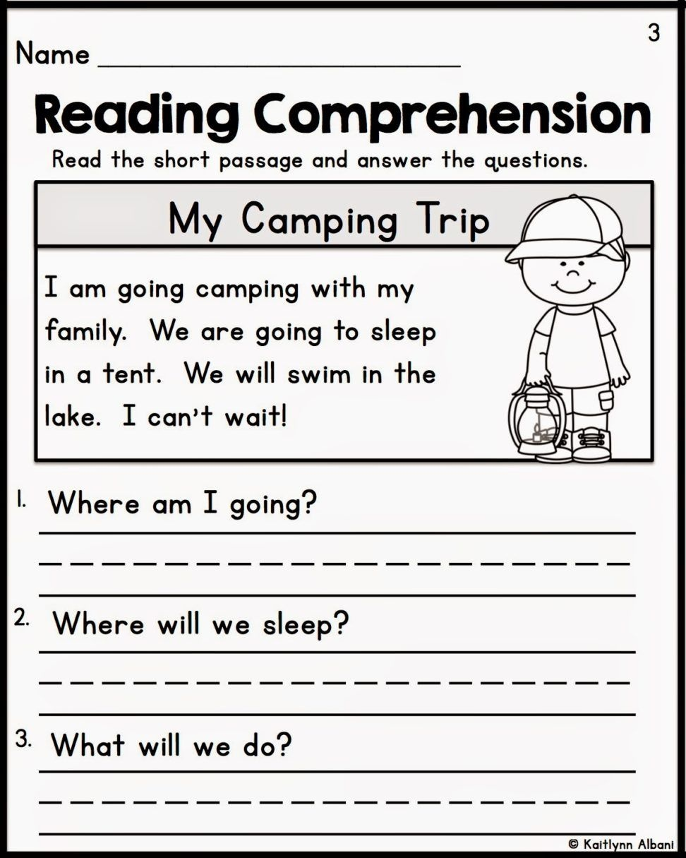 Pinkelly Matz On Ese | Free Reading Comprehension Worksheets - Free Printable Reading Activities For Kindergarten