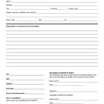 Pinlisa R On Landscaping Business | Construction Contract   Free Printable Service Contract Forms