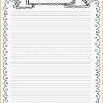 Pinmel Bratz On Art/teaching | Printable Lined Paper, Printable   Free Printable Writing Paper With Borders