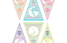 Pinpatricia On Mothers Day Printable | Easter, Easter Dyi, Spring – Free Printable Easter Bunting