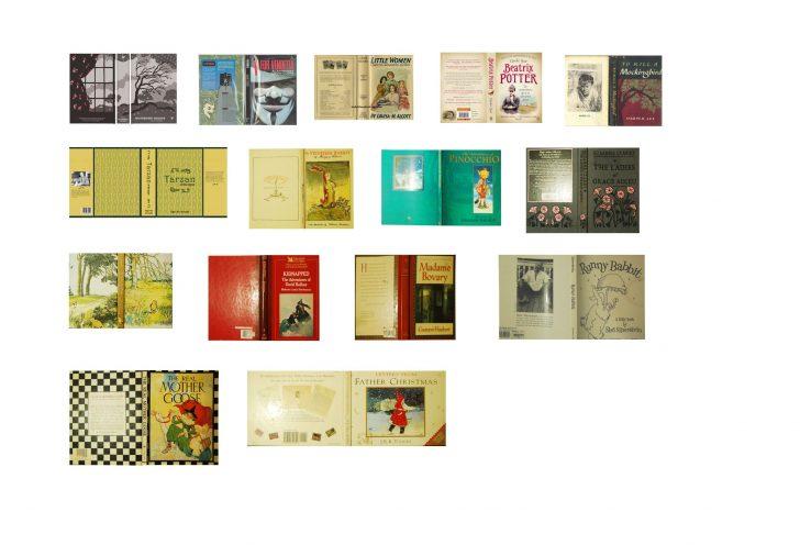 Free Printable Miniature Book Covers