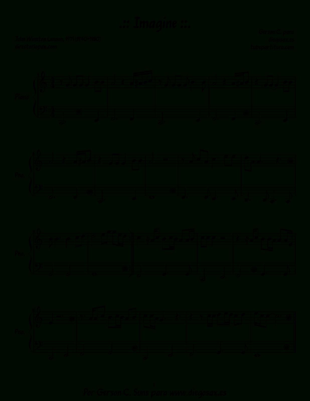 Pishaclay - Pop Songs Piano Sheet Music Pdf - Free Printable Sheet Music For Piano Beginners Popular Songs