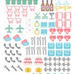 Planner Icon Stickers  Free Printables For Happy Planner And Sil   Free Printable Stickers