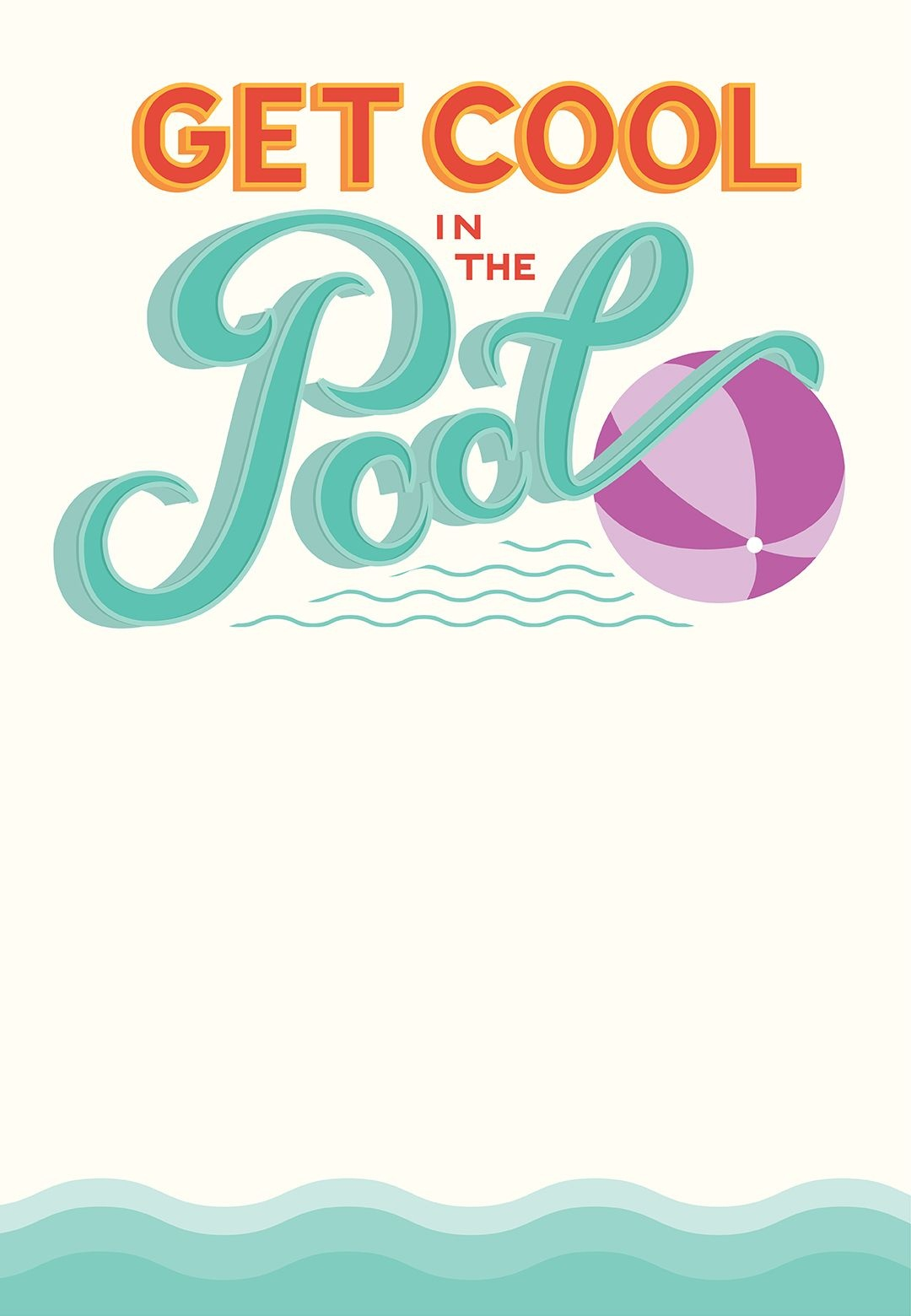 Pool Party - Free Printable Party Invitation Template | Greetings - Free Printable Water Park Birthday Invitations