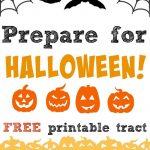 Prepare For Halloween This Year With This Free Printable Gospel   Free Printable Gospel Tracts For Children